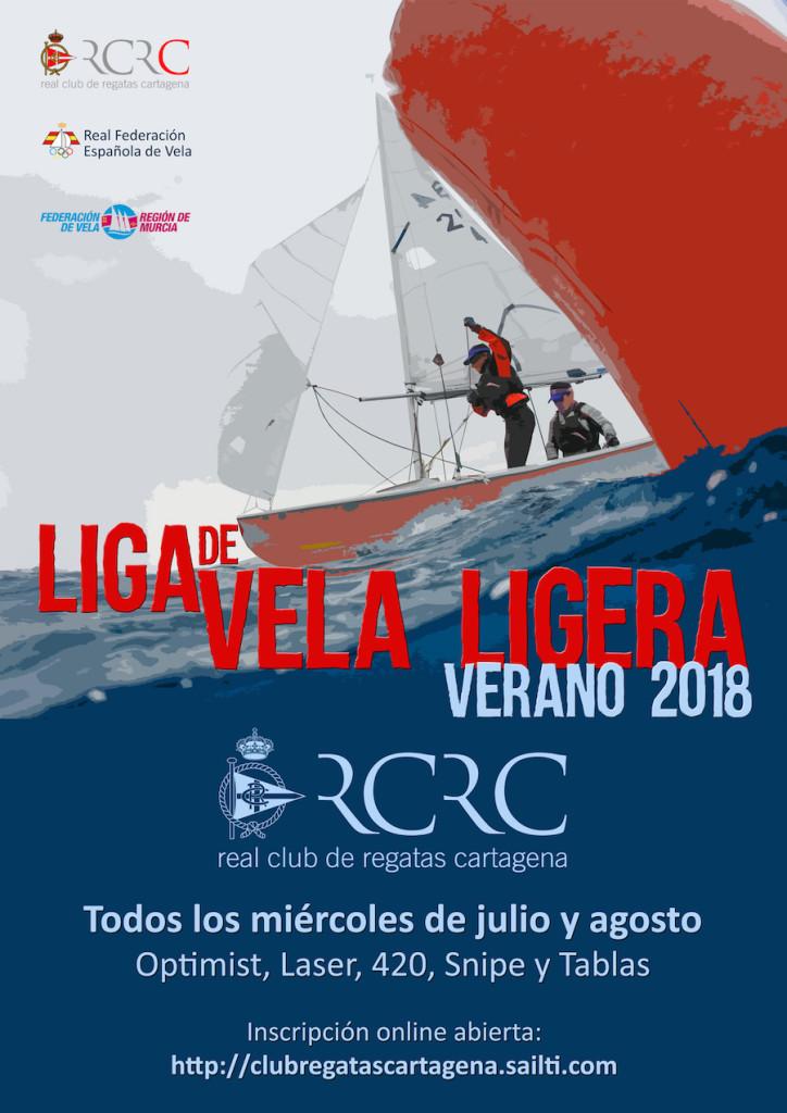 Boceto Cartel Liga Verano 2018