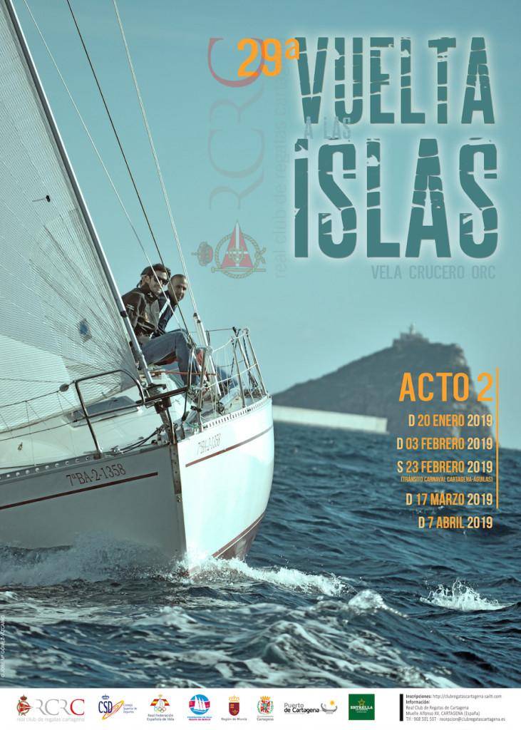 Boceto cartel 29 Vta Islas Acto 2