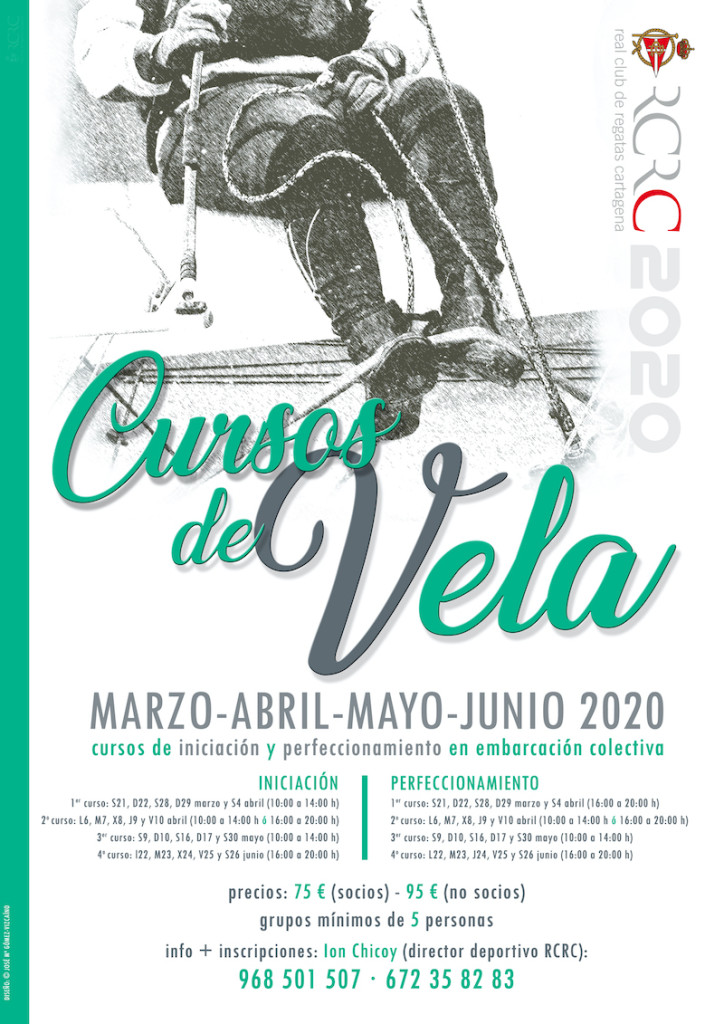 Cartel Cursos Vela mz-jn 2020