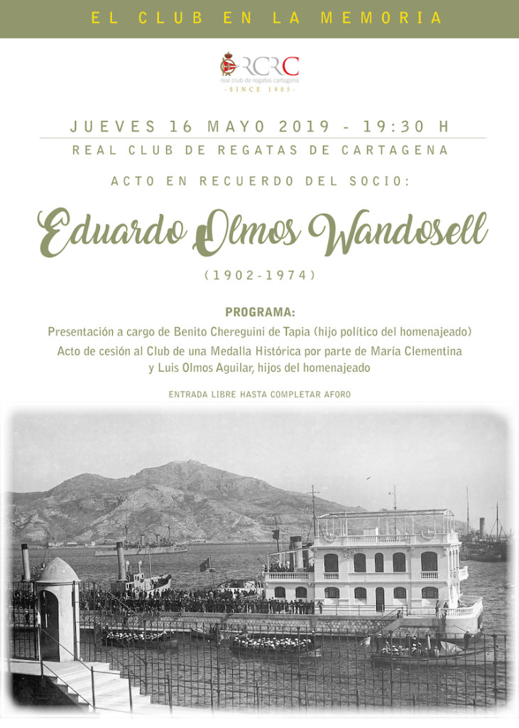 Cartel Eduardo Olmos Wandosell