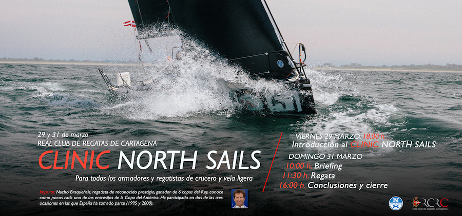 Clinic North Sails Abril  peq 2019
