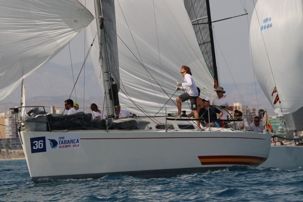 Diselrec en el pasado Trofeo Tabarca Alicante Vela. Fotos uso editoria libre de derechos: ©Pep Portas - RCR Cartagena