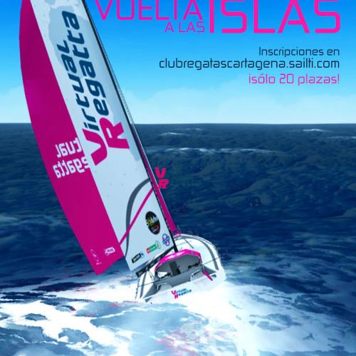Cartel Vuelta Islas Virtual