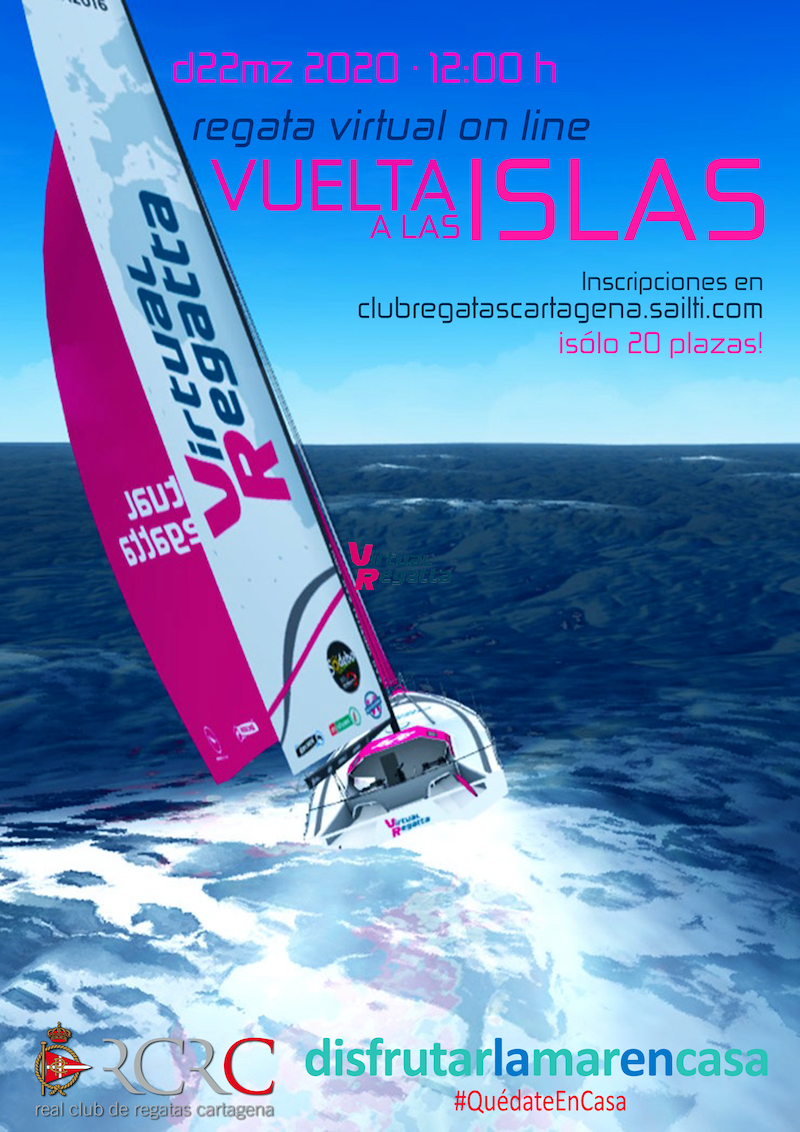 Cartel Vuelta Islas Virtual