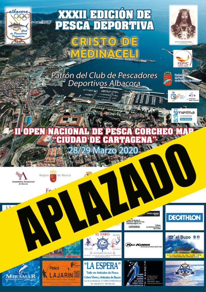 Aplazado Pesca Albacora 2020
