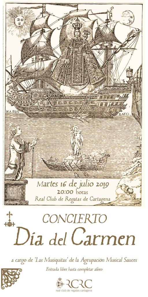 Cartel Concierto Carmen 19