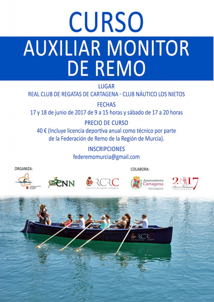 Cartel Curso Monitor Junio 2017 FB