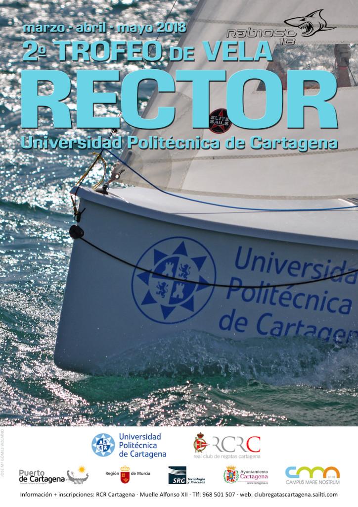 Cartel II Trofeo Rector UPCT redes