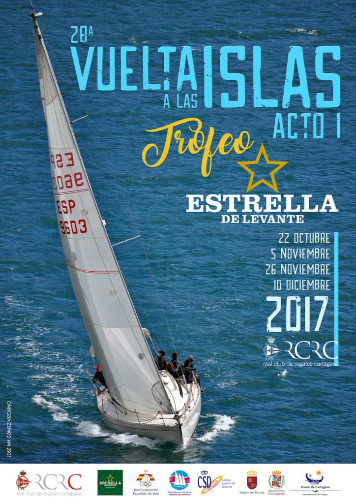 Cartel Vuelta Islas 2017 redes