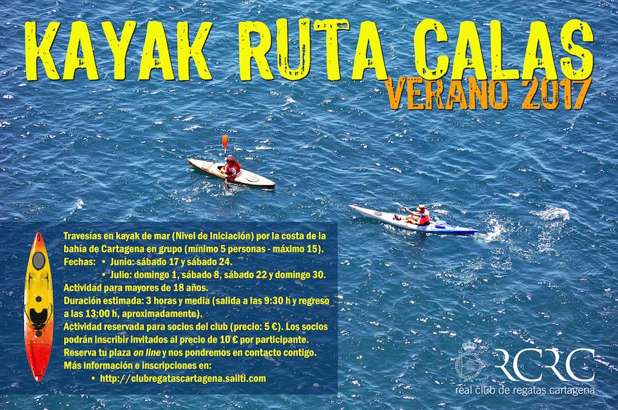 Kayak Calas Verano 2017