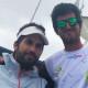 Nuestro técnico Antonio Navas, triunfando en el Ecuador