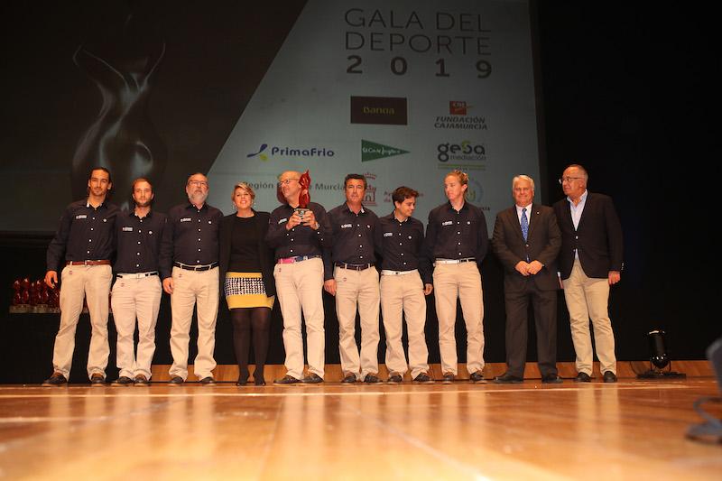 39ª Gala del Deporte de la Asociación Deportiva de la Región de Murcia en el Auditorio Victor Villegas el 16 Diciembre 2019.