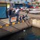 La UPCT prueba en el Club un prototipo submarino