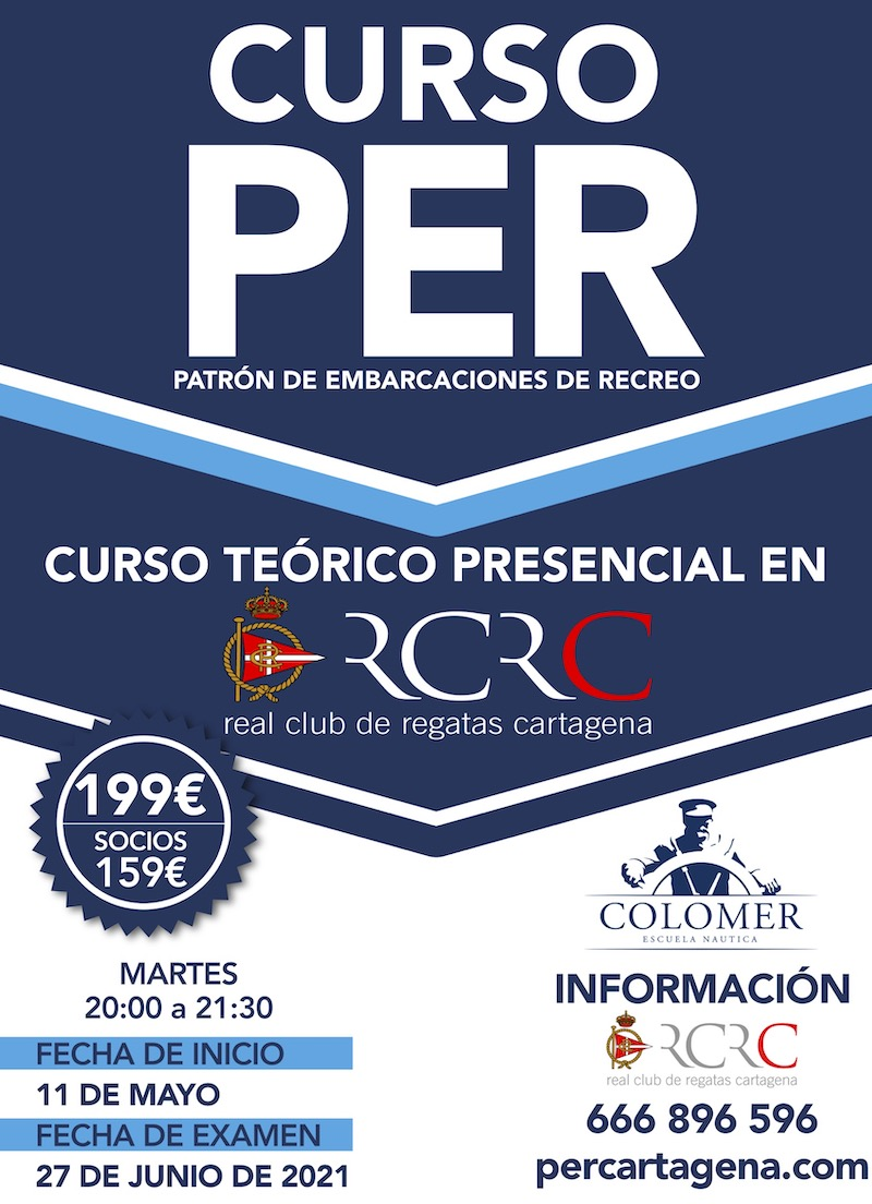 Curso PER Mayo 2021 - Real Club de Regatas de Cartagena